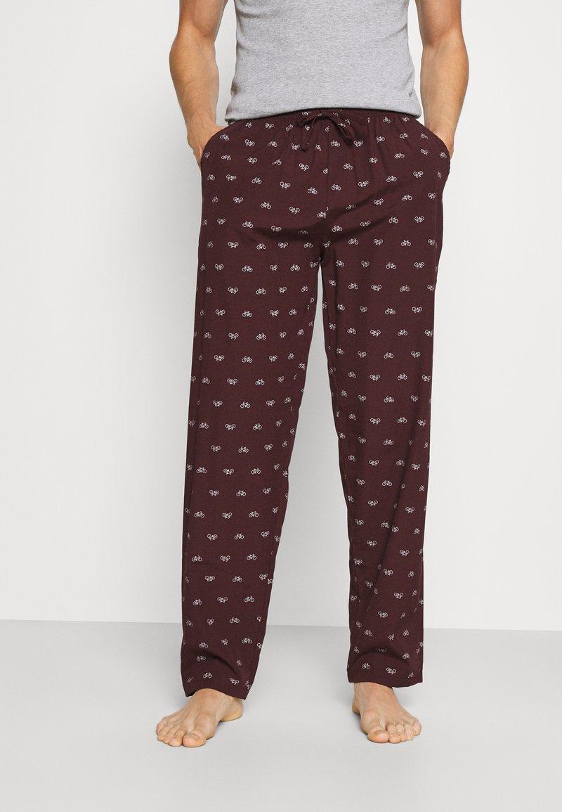 Pier One - Pyjamabroek - bordeaux