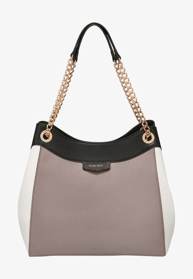CARA - Shopping bag - greystone multi