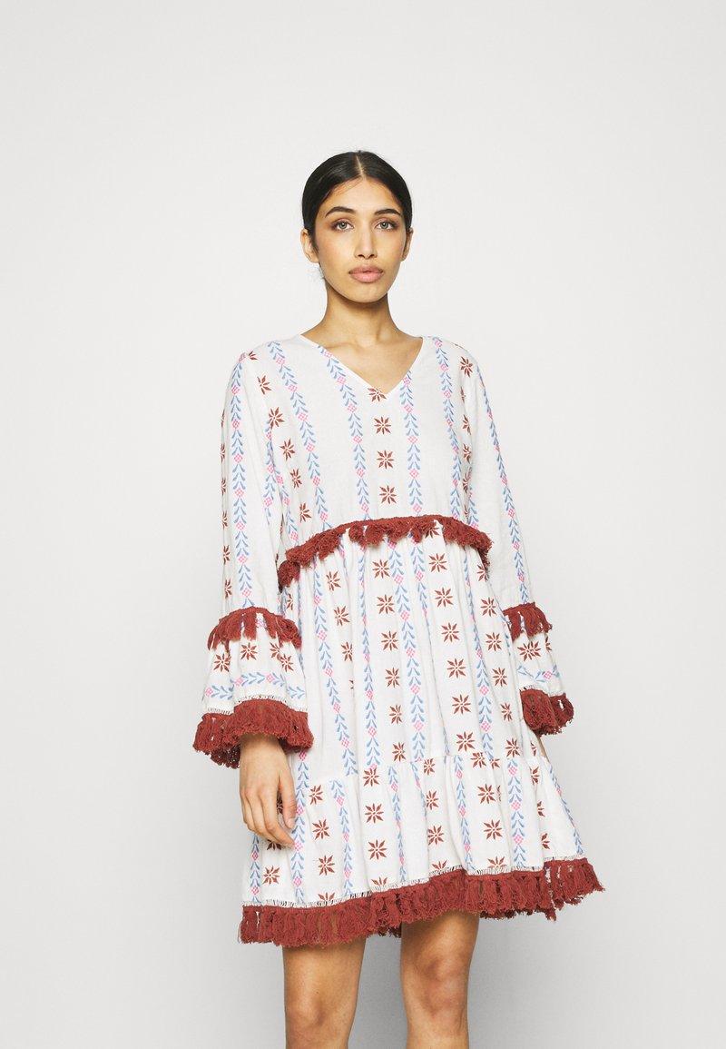 YAS - YASFIDELI DRESS - Day dress - star white