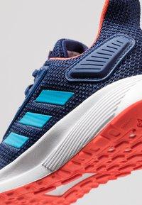 adidas Performance - DURAMO 9 - Laufschuh Neutral - dark blue/shock cyan/active orange - 2