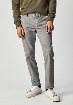 CHARLY - Pantalon classique - light grey