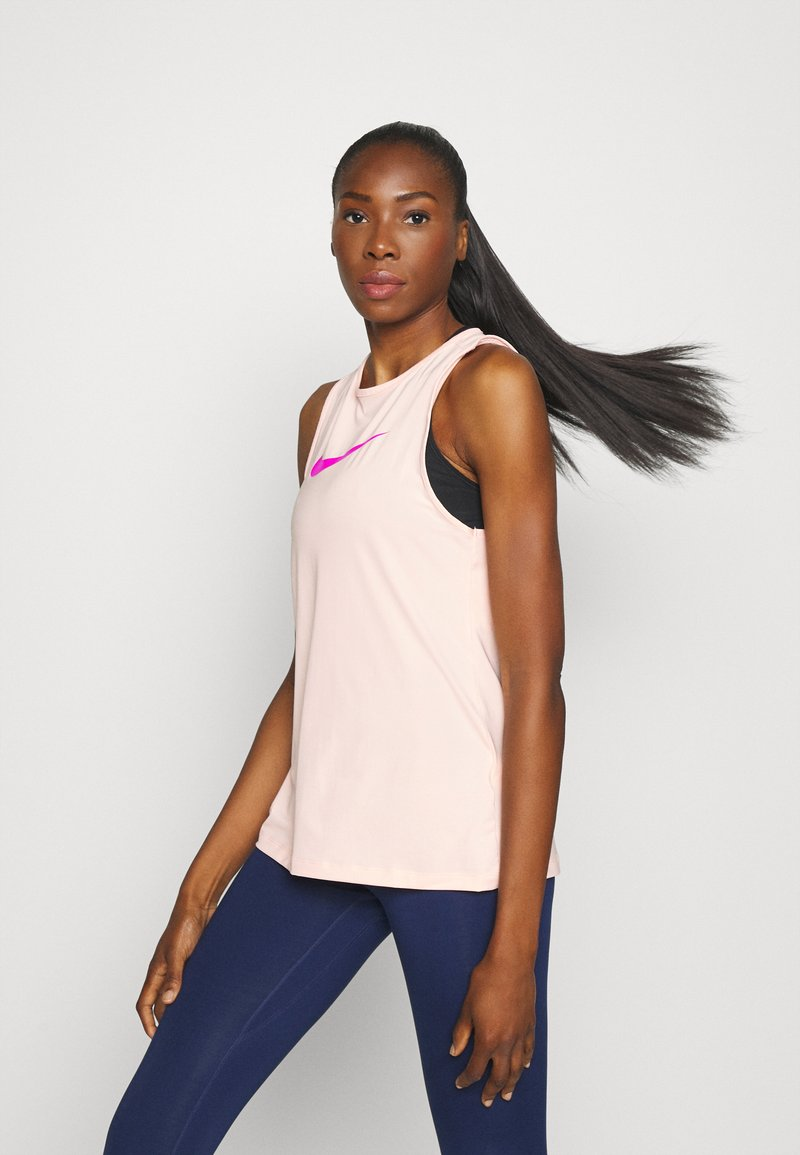 Nike Performance - Top - washed coral/fire pink
