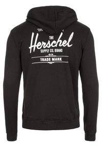 Herschel - Sweat à capuche - black / white - 1