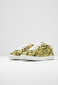 Topshop Wide Fit - WIDE FIT COLA - Trainers - yellow - 4