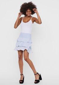Vero Moda - A-line skirt - xenon blue - 1
