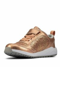 Clarks - AEON FLEX - Sneakers laag - copper leather - 1