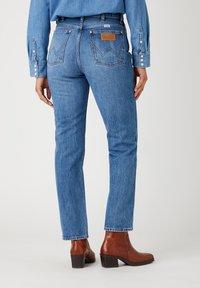 Wrangler - WILD WEST - Straight leg jeans - bluebell - 2