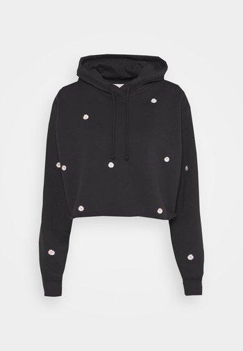 FLORAL ICON - Sweatshirt - black