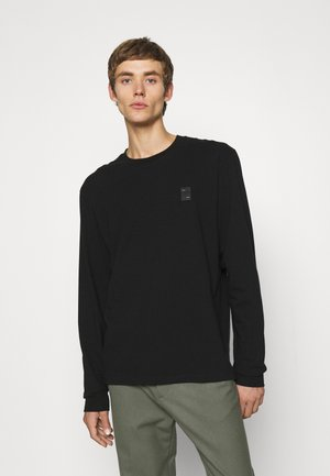 LUX LONGSLEEVE UNISEX - Camiseta de manga larga - black