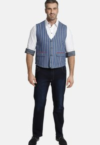 Charles Colby - Waistcoat - blau - 1