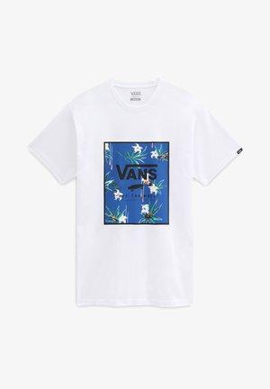CLASSIC  - Print T-shirt - white/dart floral