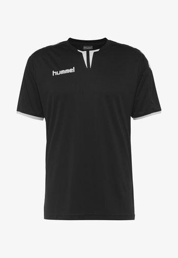 CORE SS  - T-shirt med print - black