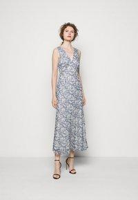 Polo Ralph Lauren - Maxi dress - blue/cream - 0