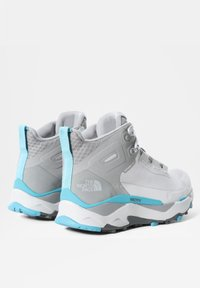 The North Face - VECTIV EXPLORIS MID FUTURELIGHT - Hiking shoes - micro chip grey/maui blue - 5