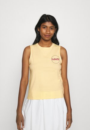 GRAPHIC BAND TANK - Top - golden haze