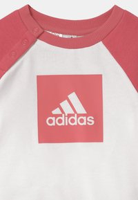 adidas Performance - LOGO SET UNISEX - Tracksuit - hazy rose/white - 3