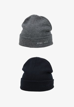 2PACK - Beanie - dark blue/light grey