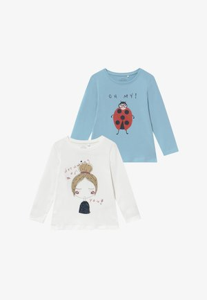 NMFVIX 2 PACK  - Langærmede T-shirts - dream blue