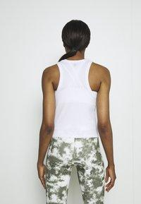 Cotton On Body - LIFESTYLE RACER TANK - Top - white - 2