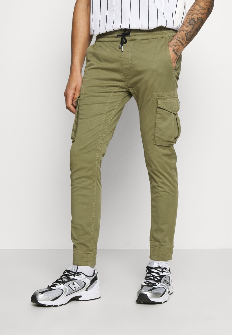 Alpha Industries - JOGGER - Cargo trousers - olive