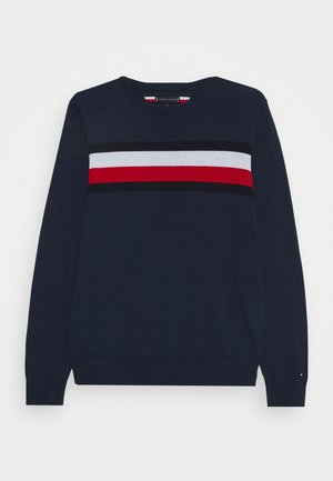 ESSENTIAL WARM - Strikpullover /Striktrøjer - blue