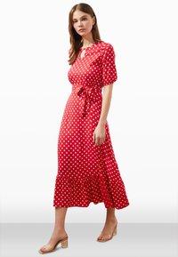 Trendyol - Day dress - red - 0