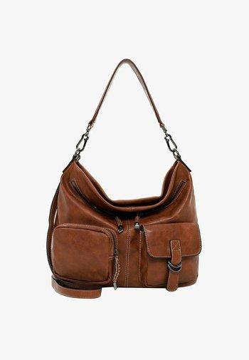 LISSY - Handbag - cognac