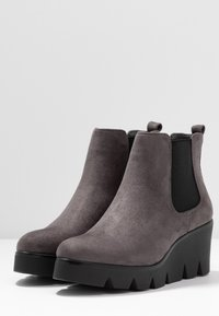 Anna Field - Wedge Ankle Boots - grey - 4