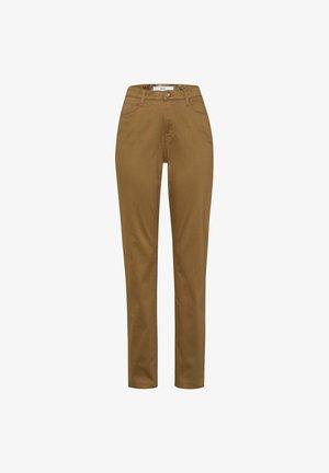 CAROLA - Straight leg jeans - clean walnut