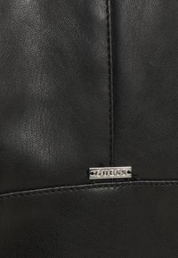 Guess - GEORGIA CROPPED - Faux leather jacket - jet blac - 5