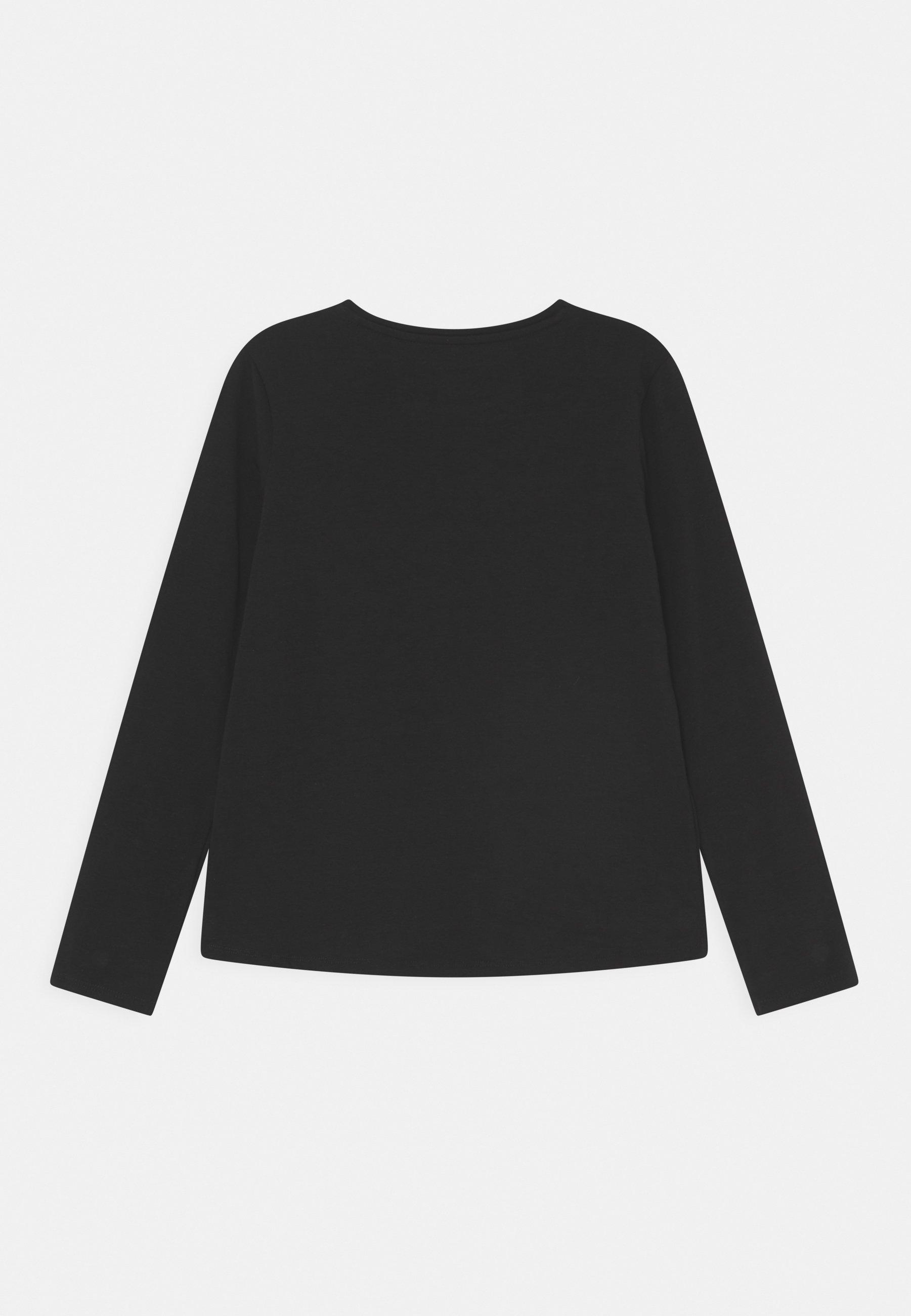 Bambini JUNIOR - Maglietta a manica lunga - jet black
