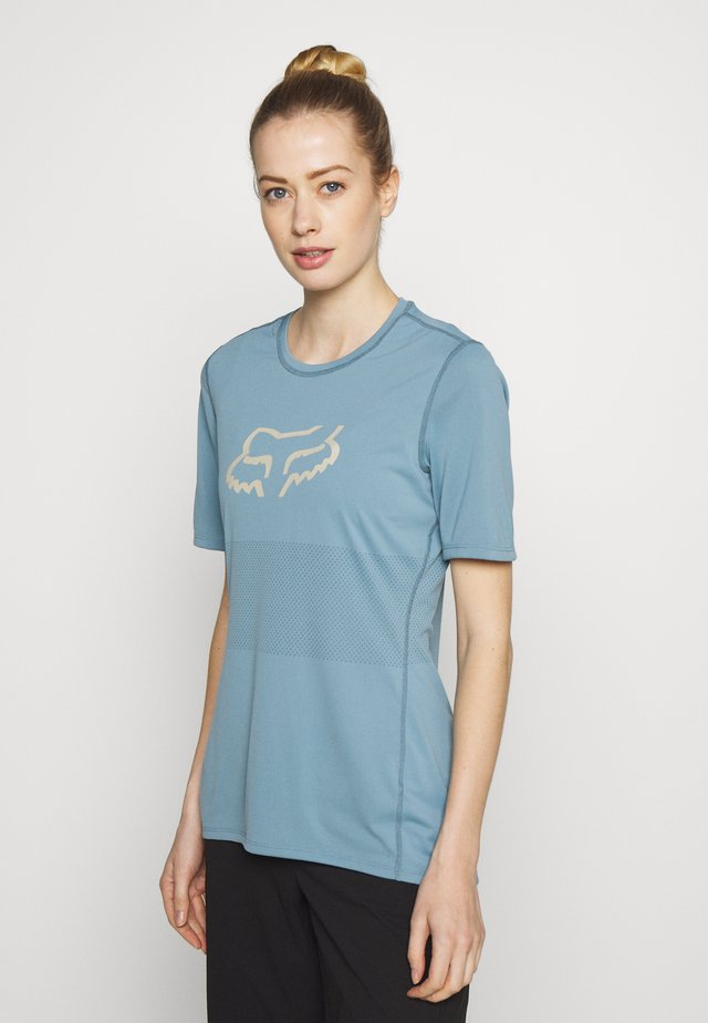 WOMENS RANGER - T-Shirt print - light blue