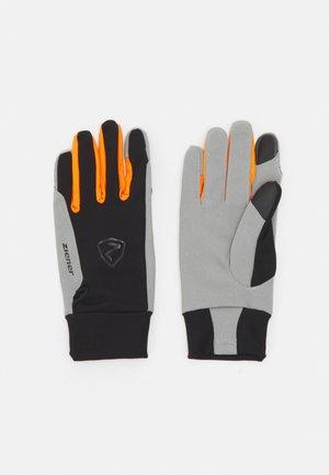 GYSMO TOUCH - Gloves - black/new orange
