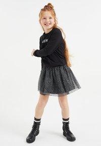 WE Fashion - A-line skirt - black - 1