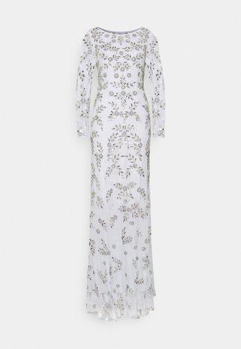 ALL OVER FLORAL DRESS - Ballkjole - ivory