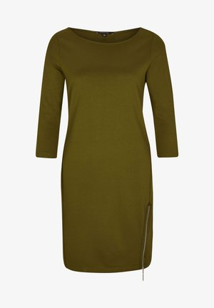Jersey dress - deep green
