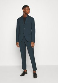 Isaac Dewhirst - PLAIN SUIT - Completo - teal - 0