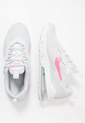 AIR MAX 270 REACT  - Sneakers basse - photon dust/digital pink/particle grey/white