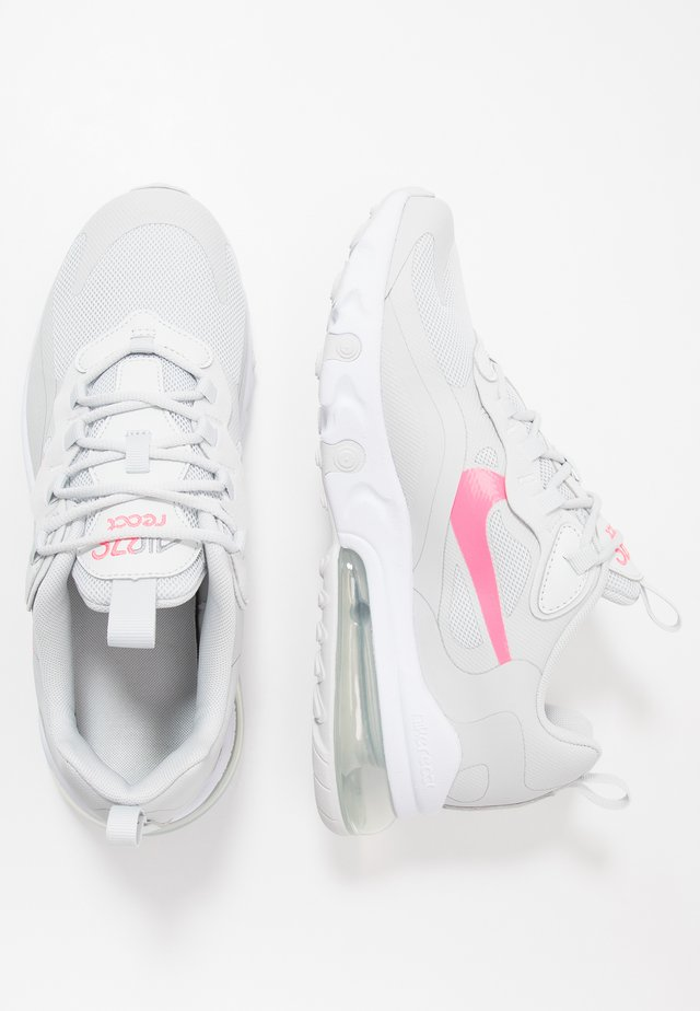 AIR MAX 270 REACT  - Trainers - photon dust/digital pink/particle grey/white