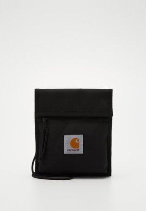 DELTA NECK POUCH - Across body bag - black