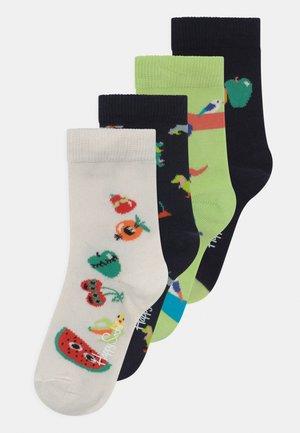 DOGS & FRUIT MIX 4 PACK UNISEX - Socks - multi-coloured