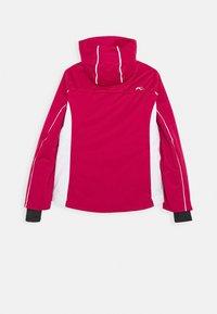 Kjus - GIRLS FORMULA JACKET - Ski jacket - mulberry/white - 1