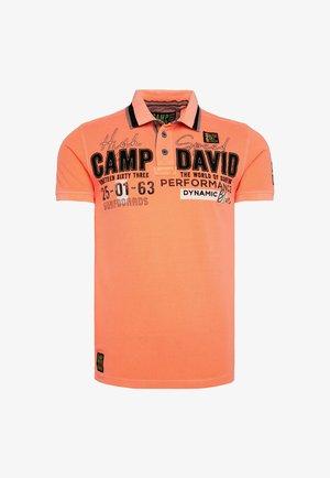 Polo shirt - speed orange