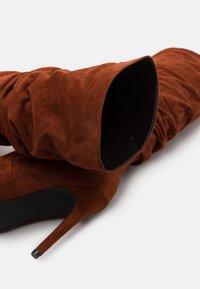 RAID - SELAH - High heeled boots - cognac - 5