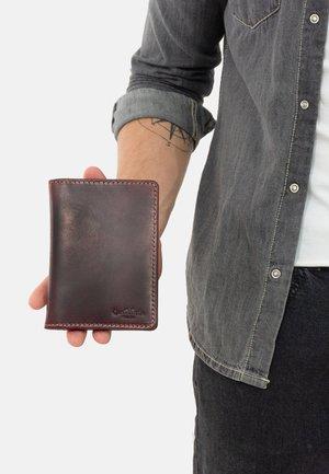 Business card holder - dunkelbraun