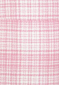 Missguided - BRUSHED CHECK MINI SKIRT - Mini skirt - pink - 2