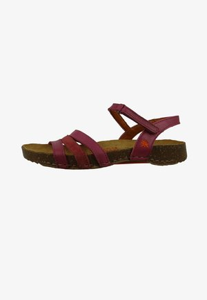 BREATHE DAMEN - Sandals - magenta-rose