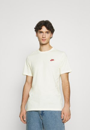 CLUB TEE - T-shirt - bas - coconut milk