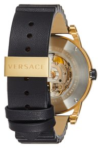 Versace Watches - THEROS AUTOMATIC - Watch - black/gold-coloured - 2