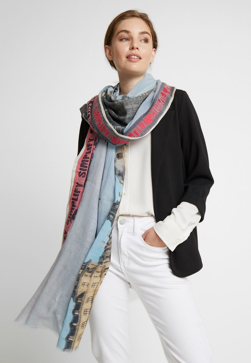 Becksöndergaard - THE LAKE SCARF - Scarf - multi